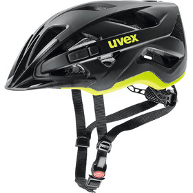UVEX Active CC Helmet black-yellow matt